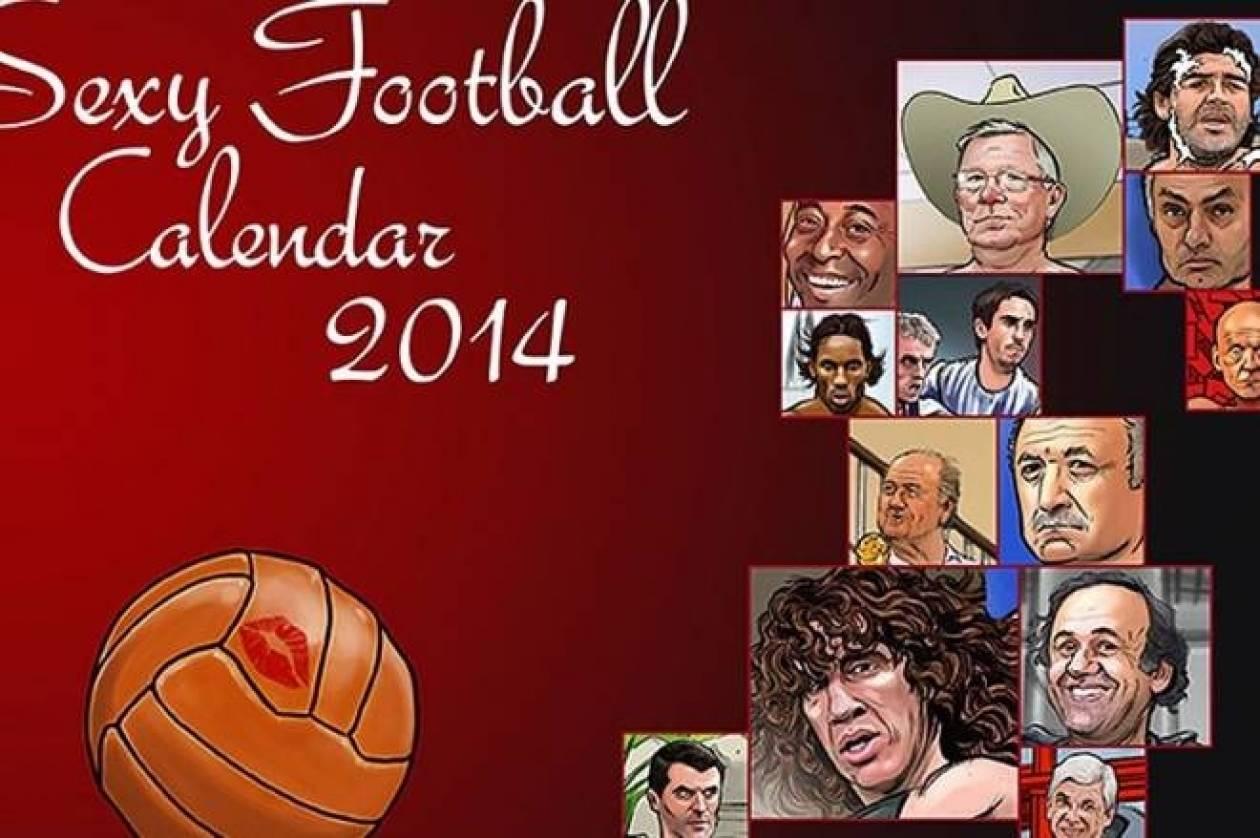 Το σέξι ημερολόγιο της ποδοσφαιρικής σεζόν (photos+video)