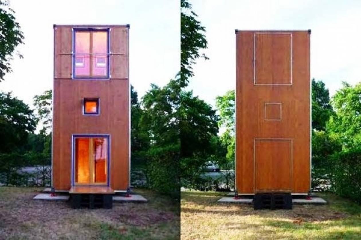Τριώροφο σπίτι 7 τ.μ.! (pics)