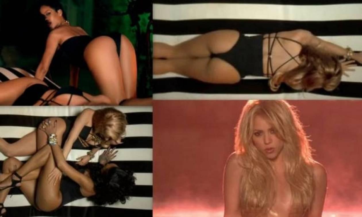 Σκανδαλιστικό το βίντεο κλιπ του ντουέτου Rihanna-Shakira!