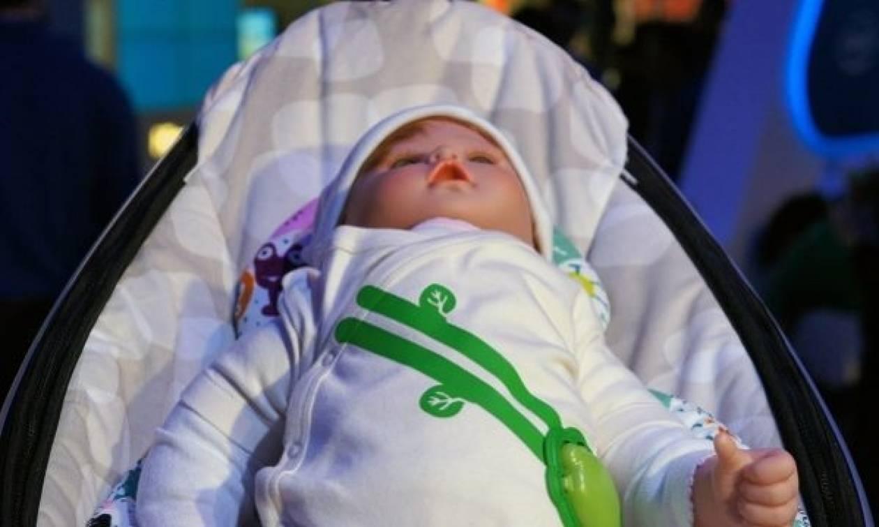Φανελάκι ανιχνεύει την αναπνοή του μωρού μας