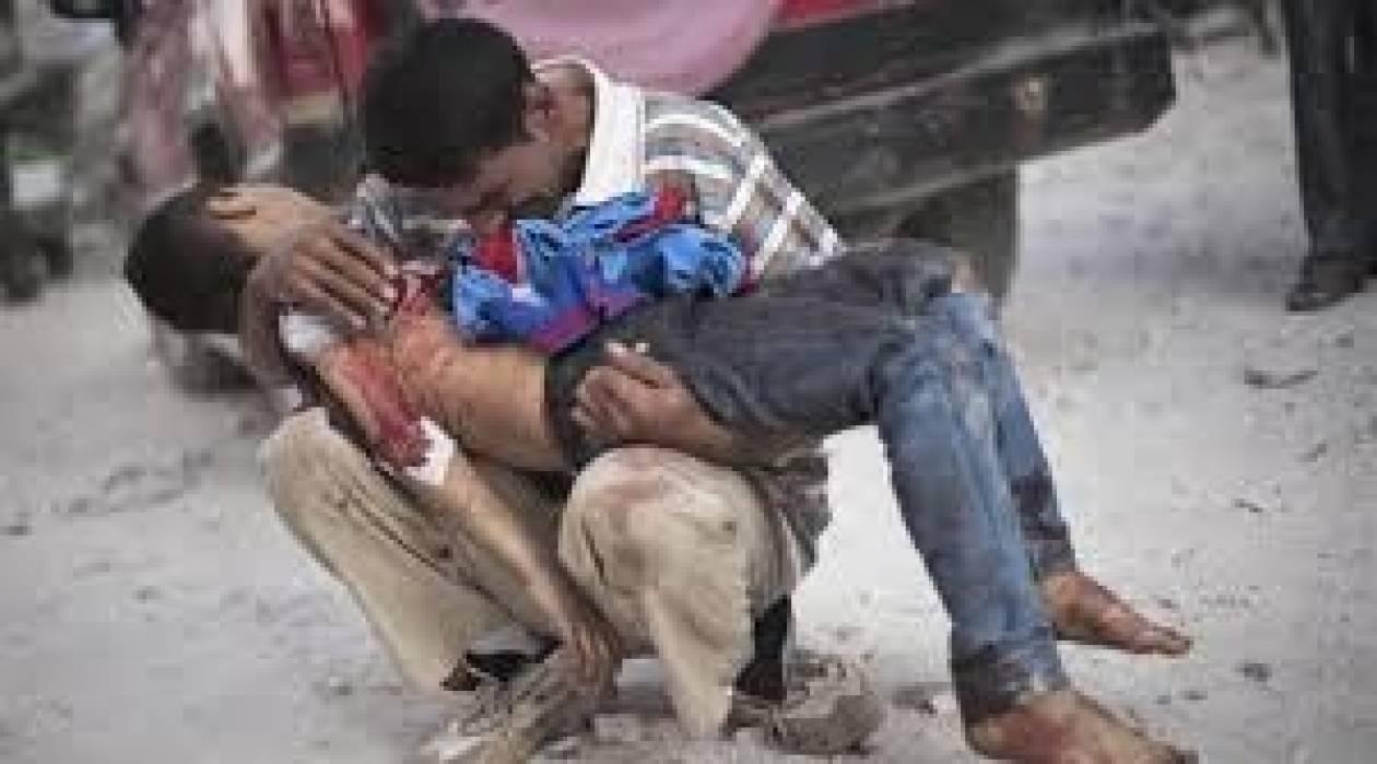 Συρία: Τουλάχιστον 136.000 νεκροί σε σχεδόν τρία χρόνια σύγκρουσης