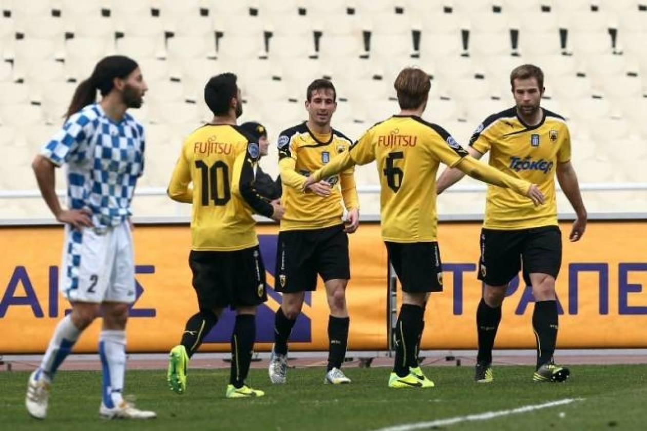 ΑΕΚ – Μανδραϊκός 8-0: Τα γκολ του αγώνα (video)