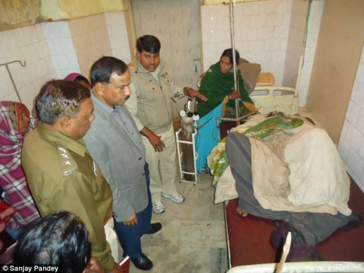 Ινδία: Έκαψε τη γυναίκα του και το μωρό του ενώ θήλαζε!