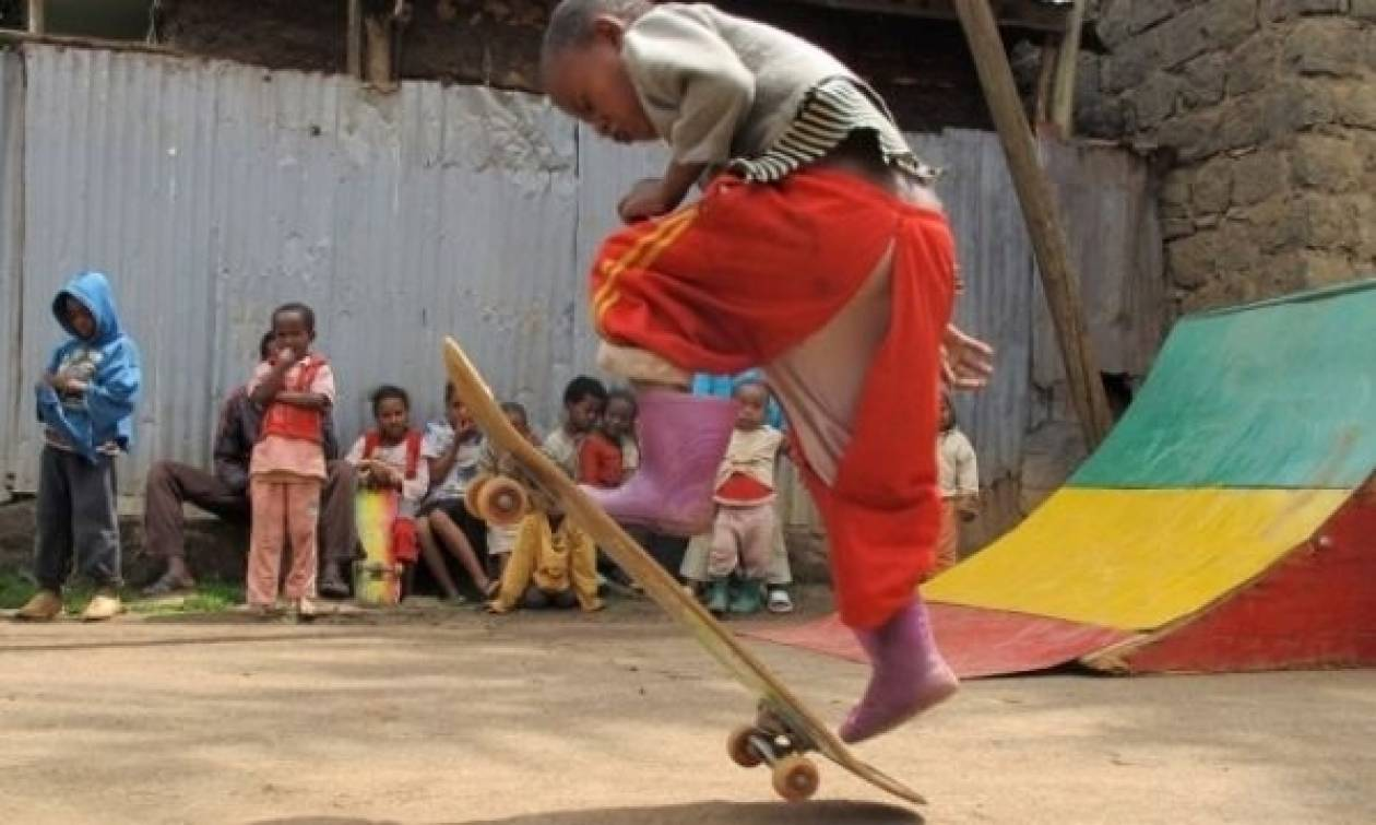 Ethioskate! Αλλάζοντας τη ζωή ενός παιδιού από την Αιθιοπία