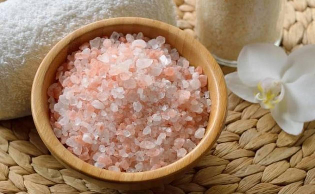 Αλάτι Ιμαλαΐων : Εμπόδιο για την κυτταρίτιδα και όχι μόνο