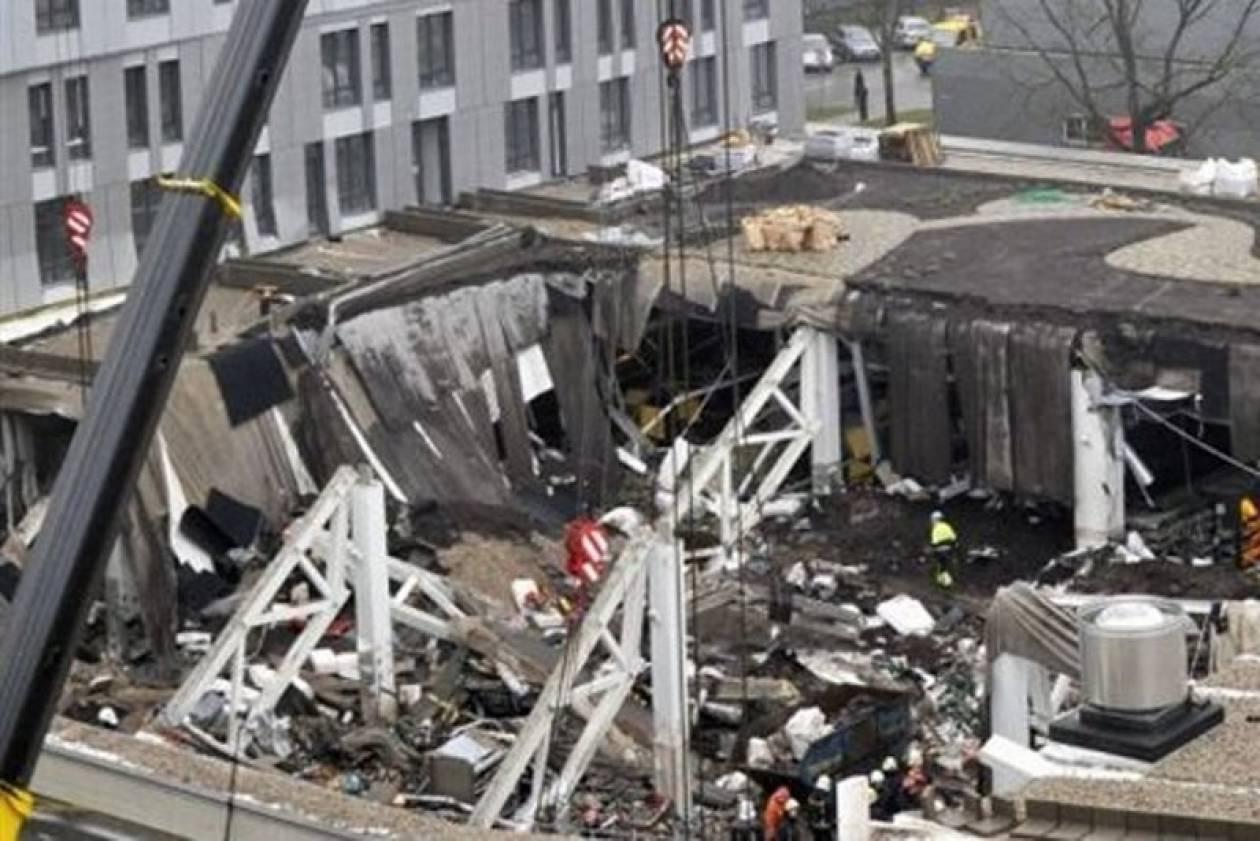 Κατέρρευσε πύργος 116 μέτρων σε χώρο πανεπιστημίου