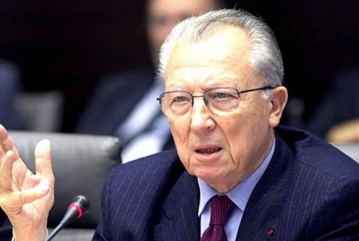 Ζακ Ντελόρ: Η Ελλάδα έπρεπε να μπει στο ευρώ τρία χρόνια αργότερα