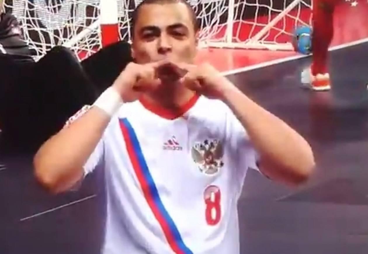 Απίστευτο γκολ στο Euro του futsal! (video)