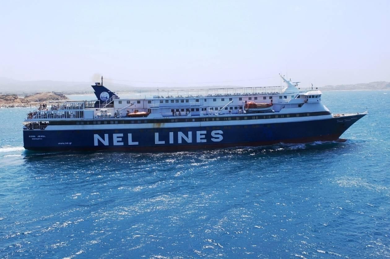Επιβατικό πλοίο δεν κατάφερε να προσεγγίσει τη Φολέγανδρο