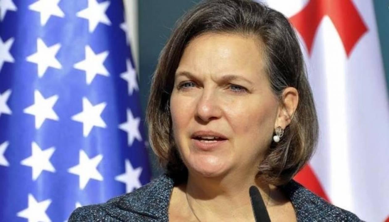 Συνάντηση Σαμαρά με την υφυπουργό Εξωτερικών των ΗΠΑ