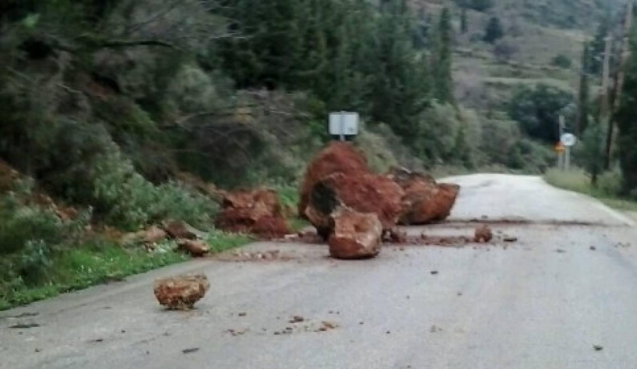 Κεφαλονιά: Υπάρχει καθίζηση της αγροτικής οδού Χαβδάτα – Ληξούρι