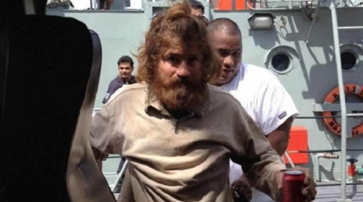 Αυτός είναι ο ναυαγός που περιπλανιόταν επί 14 μήνες στον Ειρηνικό