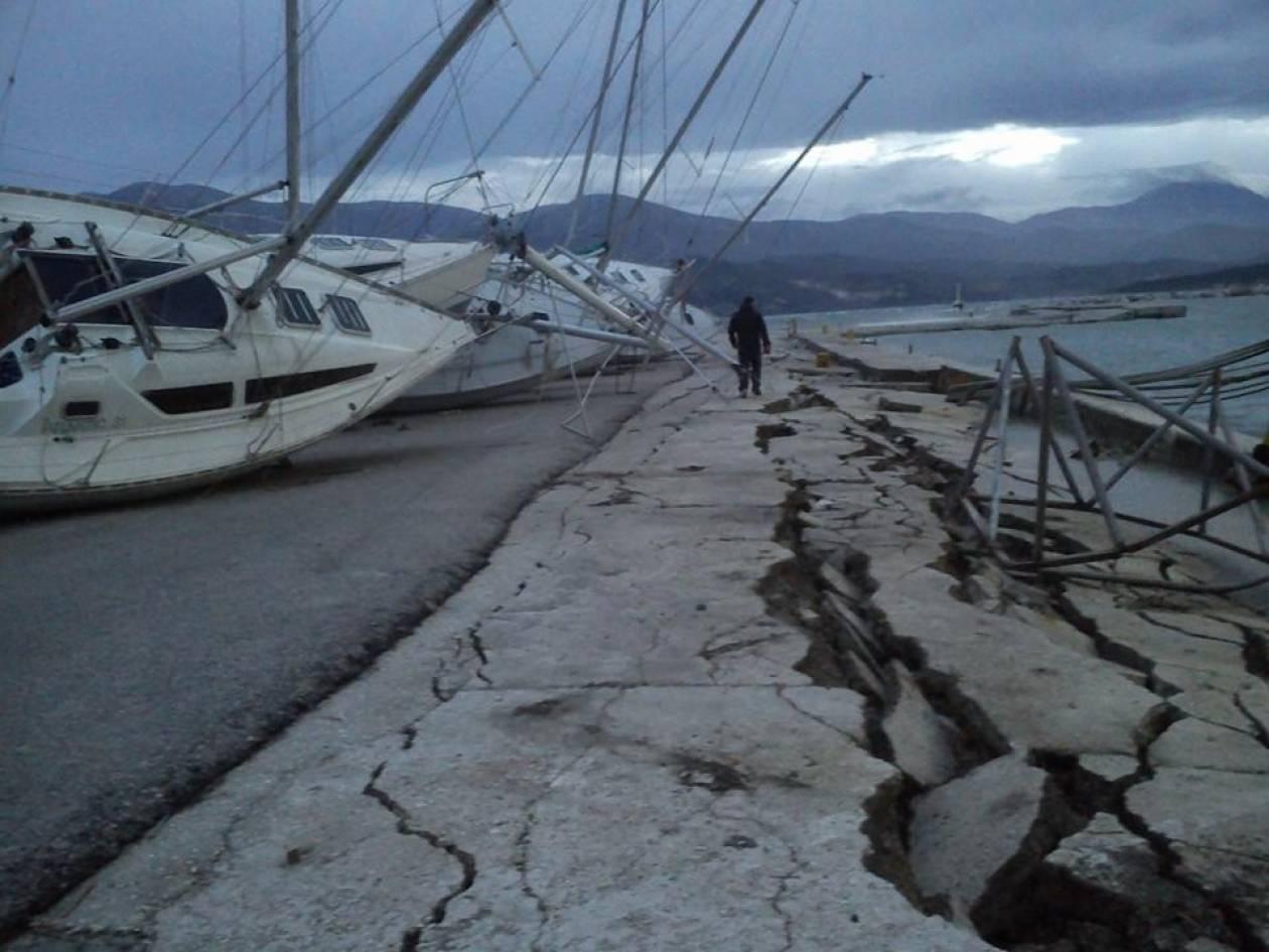 Δείτε συγκλονιστικές φωτογραφίες από το νέο σεισμό στην Κεφαλονιά