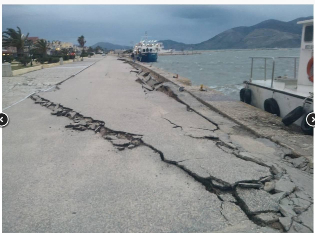 Κεφαλονιά: Δείτε όλα τα συγκλονιστικά βίντεο από το νέο σεισμό