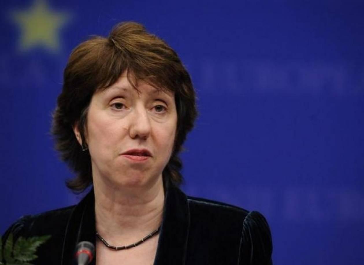 Άστον: Περισσότερη βοήθεια στην Ουκρανία αλλά υπό όρους