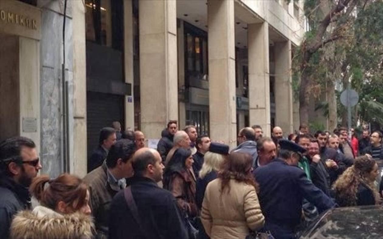 Συγκέντρωση διαμαρτυρίας κατά των φορολογικών προστίμων