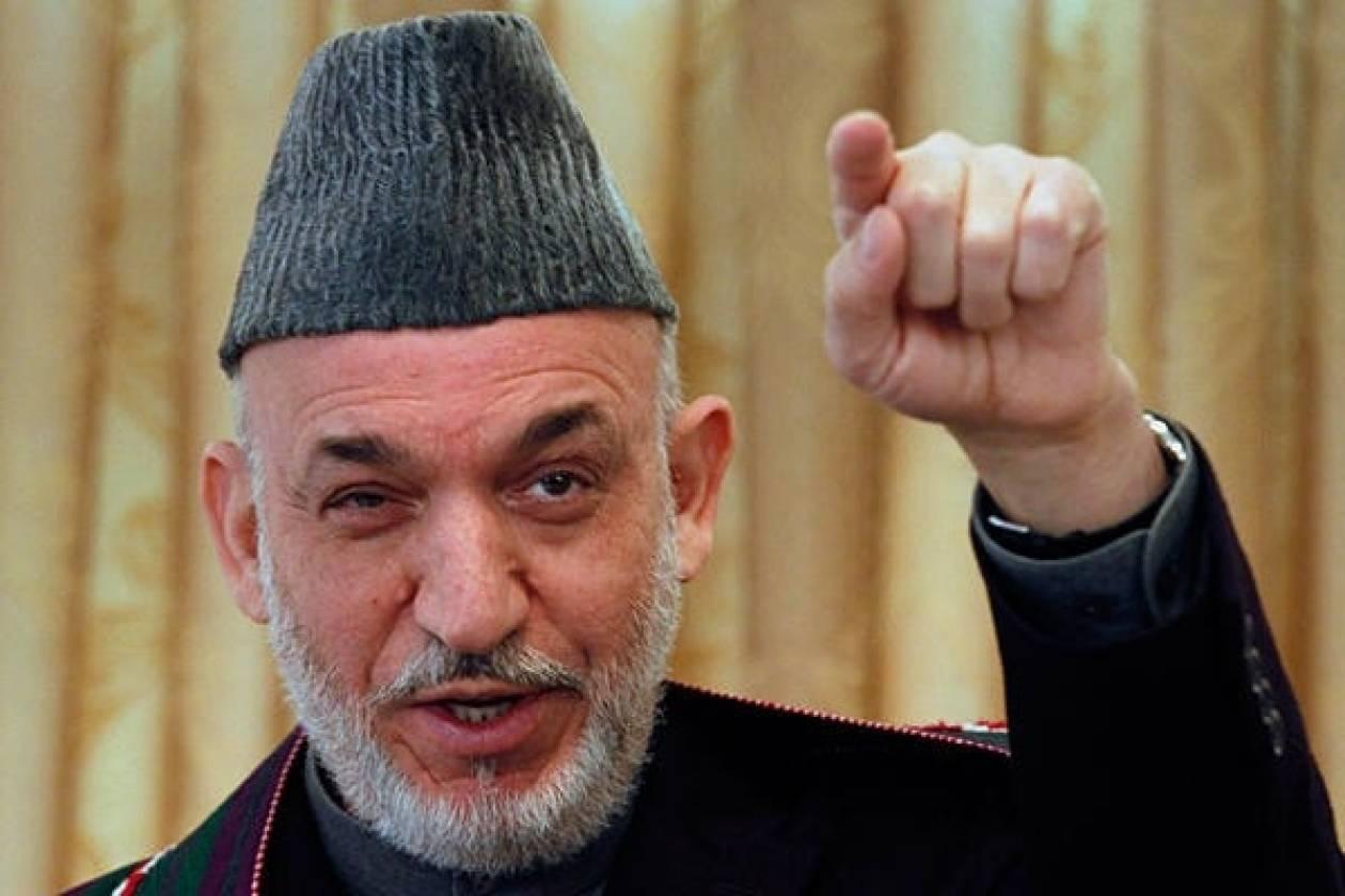 NYT: Σε μυστικές συνομιλίες με τους Ταλιμπάν ο Καρζάι
