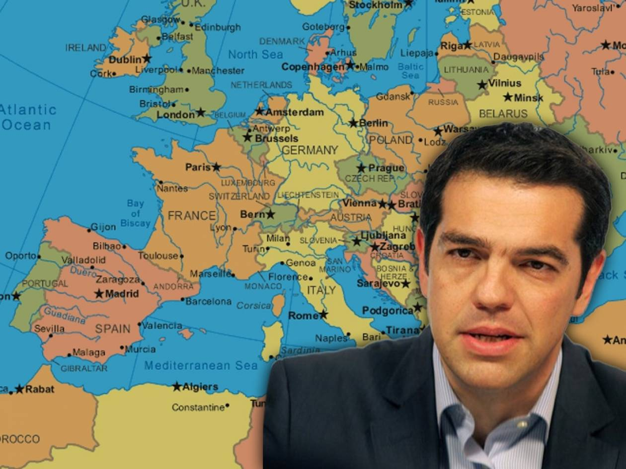 Τσίπρας: Θα γκρεμίσουμε το τείχος πλούσιου Βορρά - φτωχού Νότου