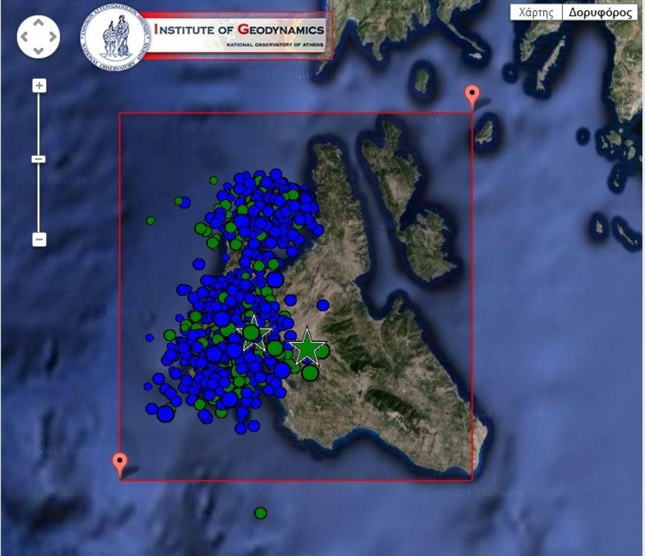 Κεφαλονιά: 818 μετασεισμοί «χορεύουν» το νησί μετά τον πρώτο σεισμό