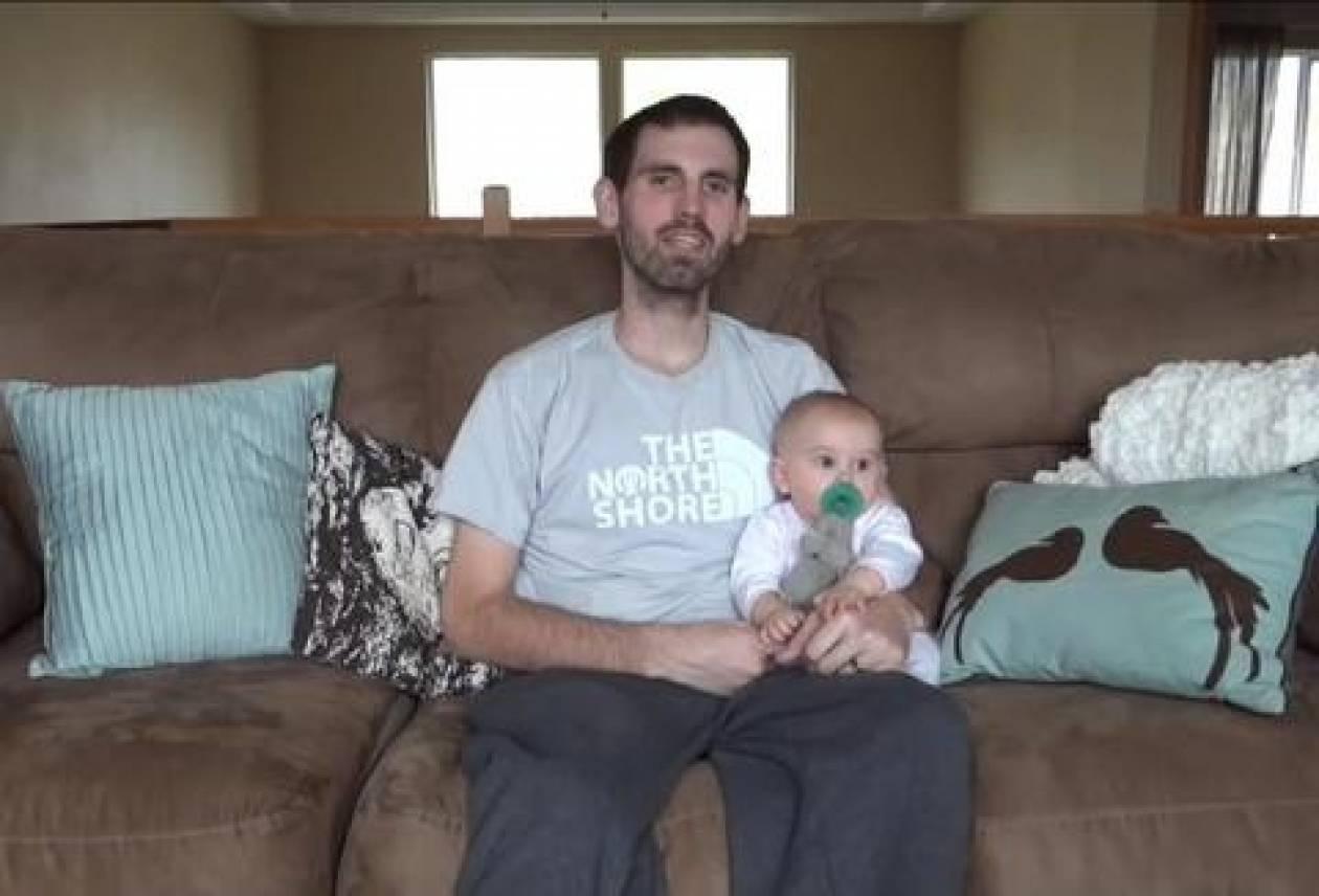 Βίντεο που συγκινεί: Καρκινοπαθής πατέρας «μιλά» στην κόρη του