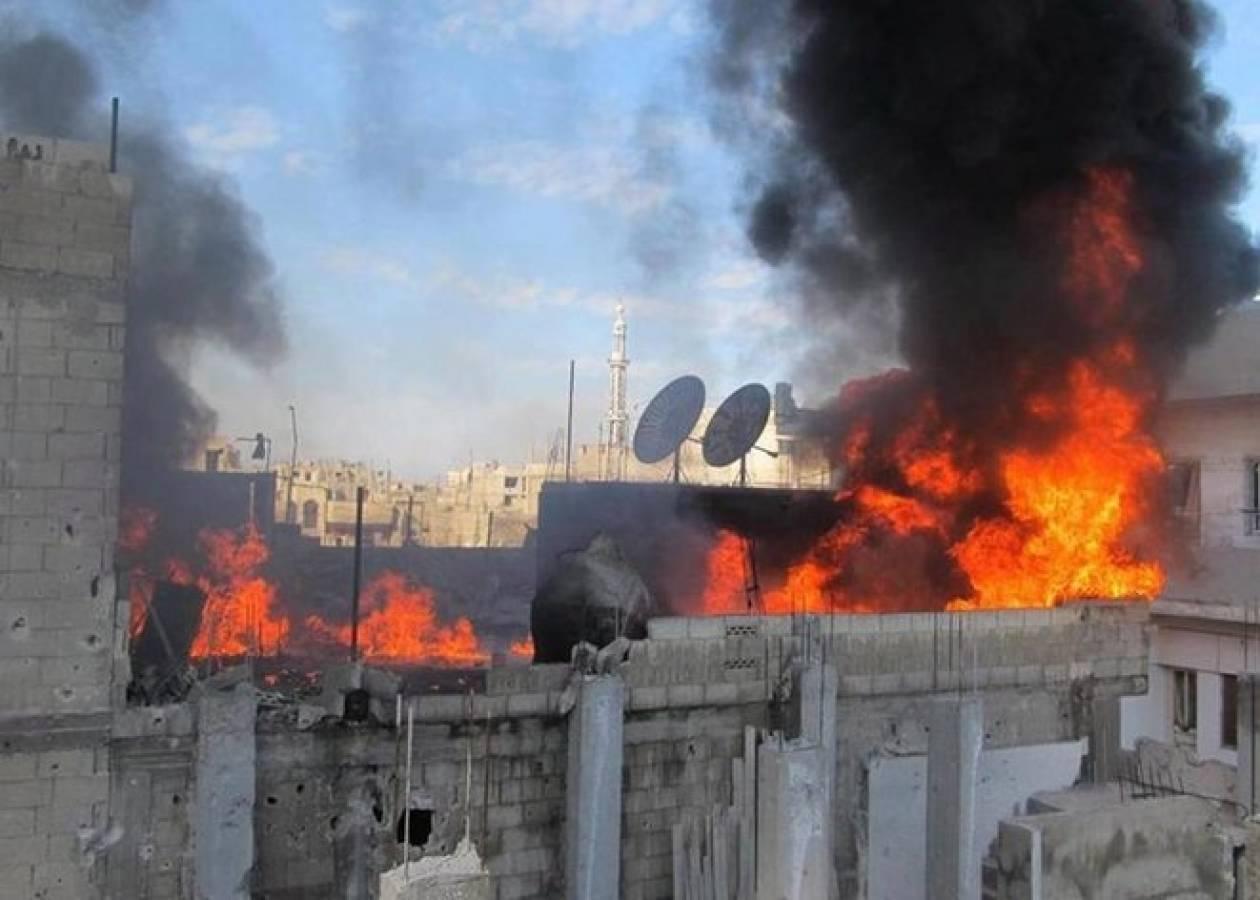 Συρία: Νέες αεροπορικές επιδρομές στο Χαλέπι με οκτώ νεκρούς