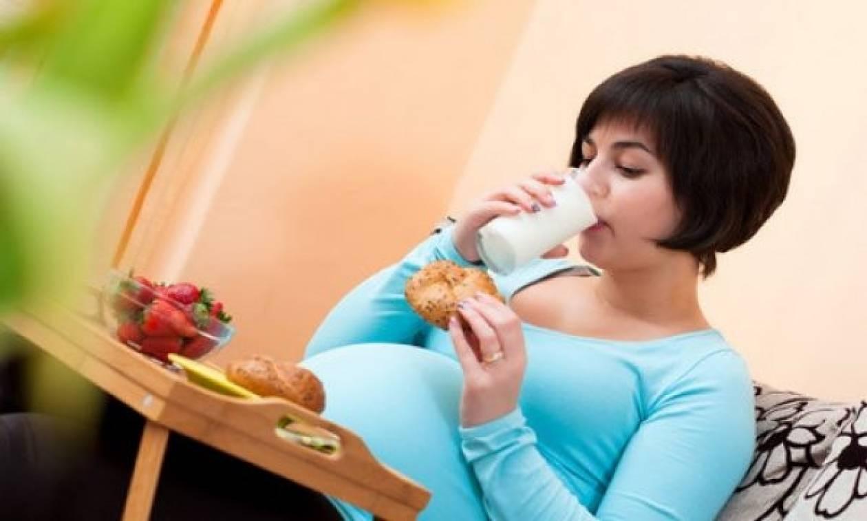 Μόλις έμαθα ότι είμαι έγκυος και έχω πολλά παραπάνω κιλά