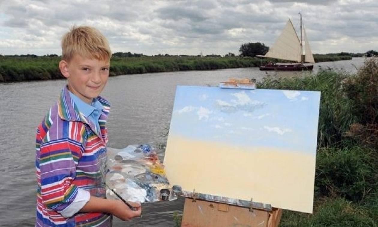 Οι πίνακες ζωγραφικής του 11χρονου «Μονέ»