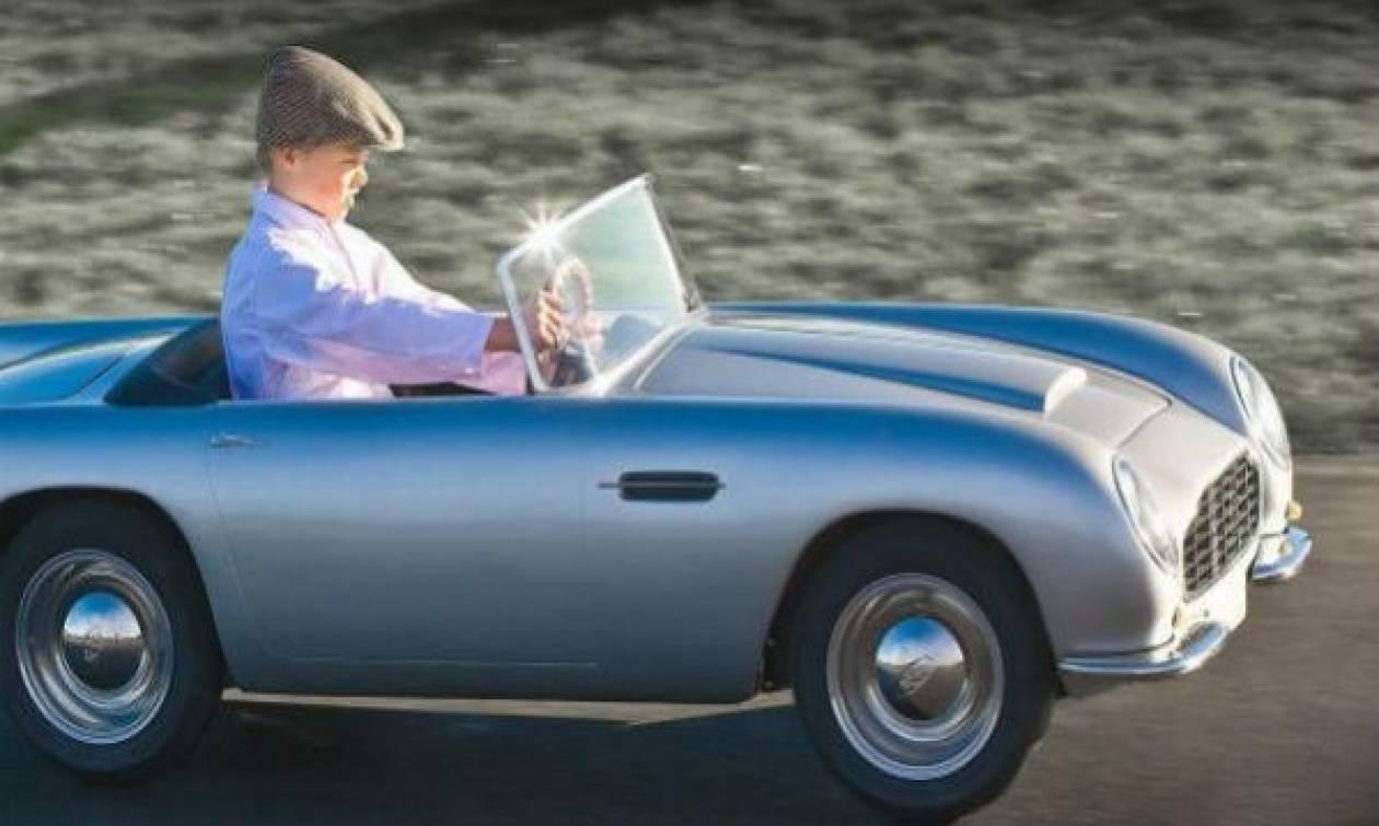 Αυτή είναι η Aston Martin για παιδιά