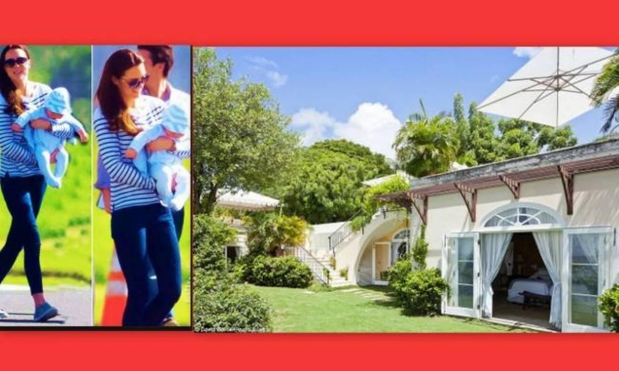 Η Kate Middleton κάνει τις πρώτες διακοπές με τον γιο της