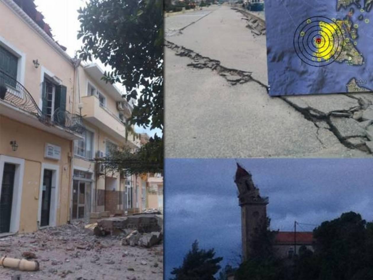 Νέος σεισμός 4,2 ρίχτερ στην Κεφαλονιά