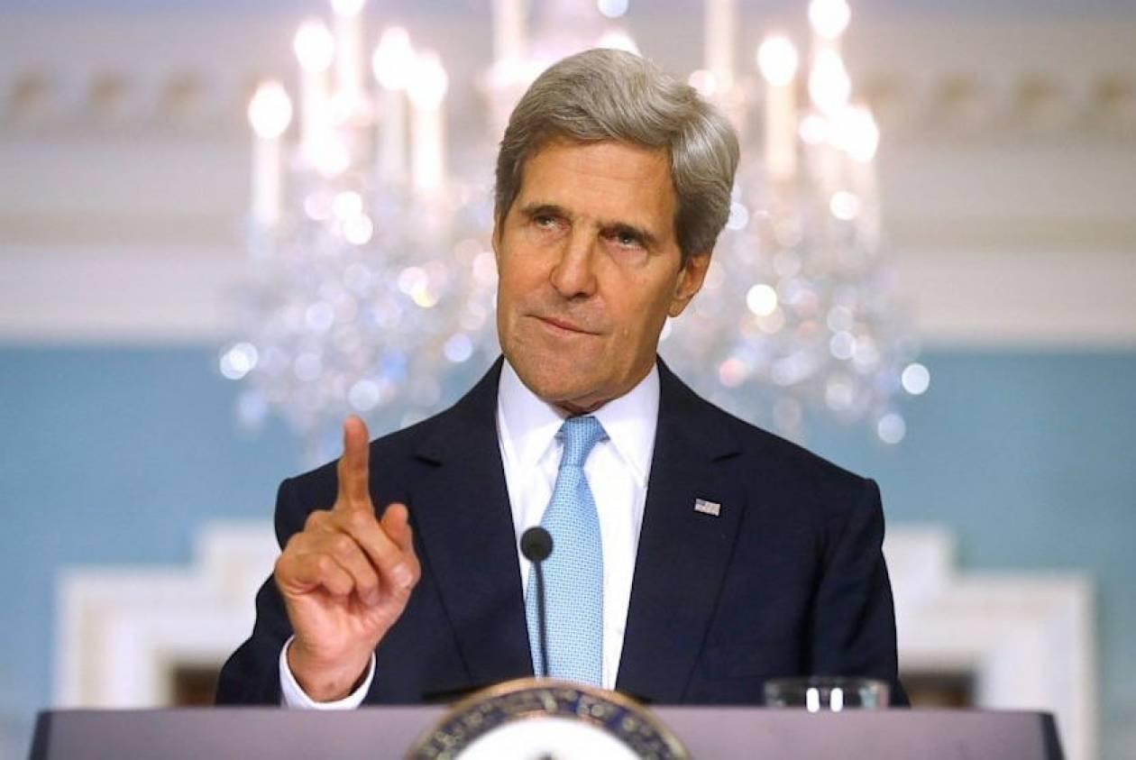 Τζον Κέρι: «Βάρβαρη» η επίθεση με εκρηκτικά βαρέλια στη Συρία