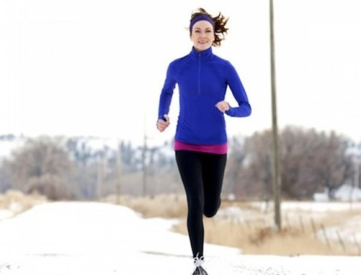 Oι 5 πιο συμβουλές για να τρέχετε με ασφάλεια μέσα στον χειμώνα