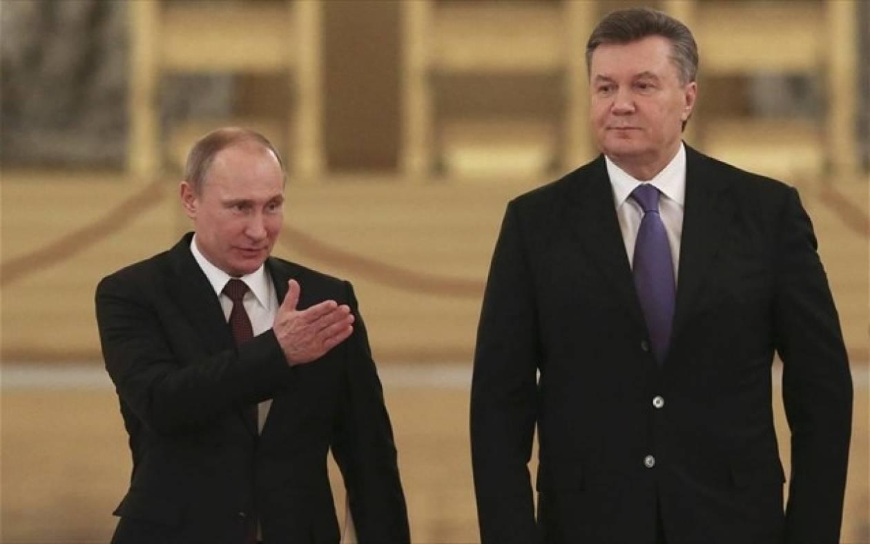 Συνάντηση Πούτιν - Γιανουκόβιτς την Παρασκευή στο Σότσι