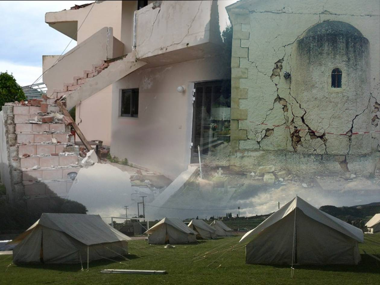 Κεφαλονιά: 5.000 οι άστεγοι - 600 σπίτια έχουν κριθεί κατεδαφιστέα