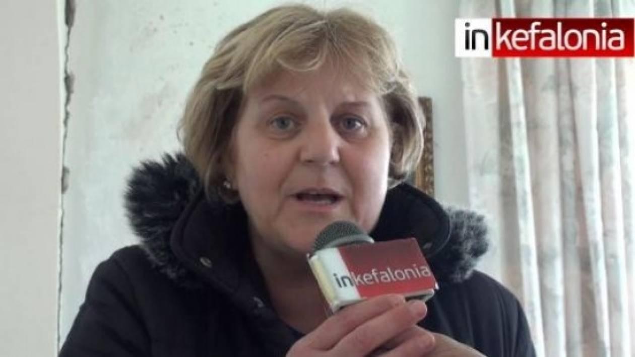 Κεφαλονιά: Μια Ληξουριώτισσα στέλνει μήνυμα στη Μέρκελ (vid)