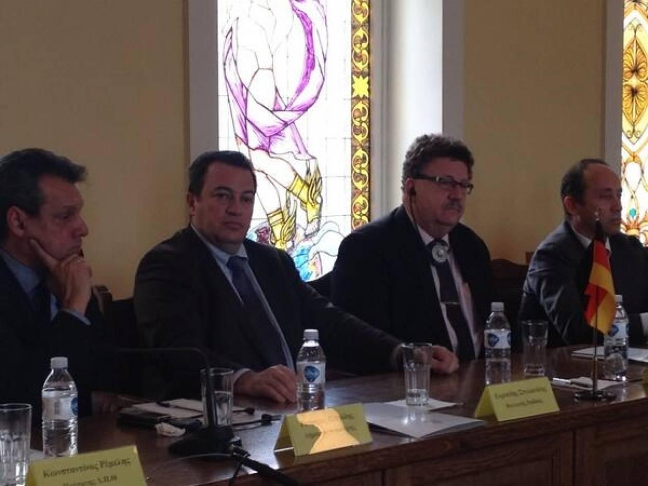 Συνάντηση Στυλιανίδη-Φούχτελ στην Κομοτηνή