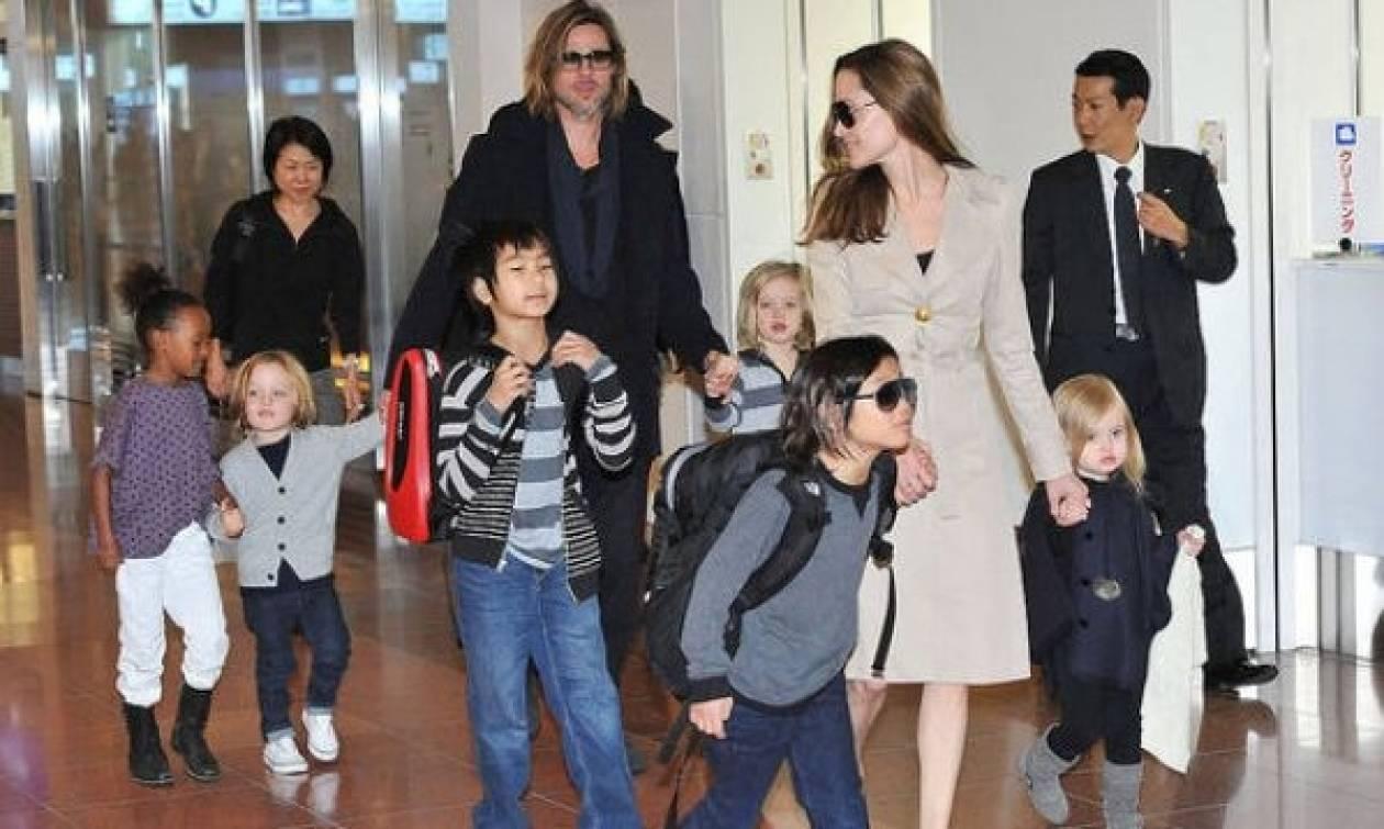 Πιτ-Τζολί: Μετακομίζουν οικογενειακώς στο Γιοχάνεσμπουργκ