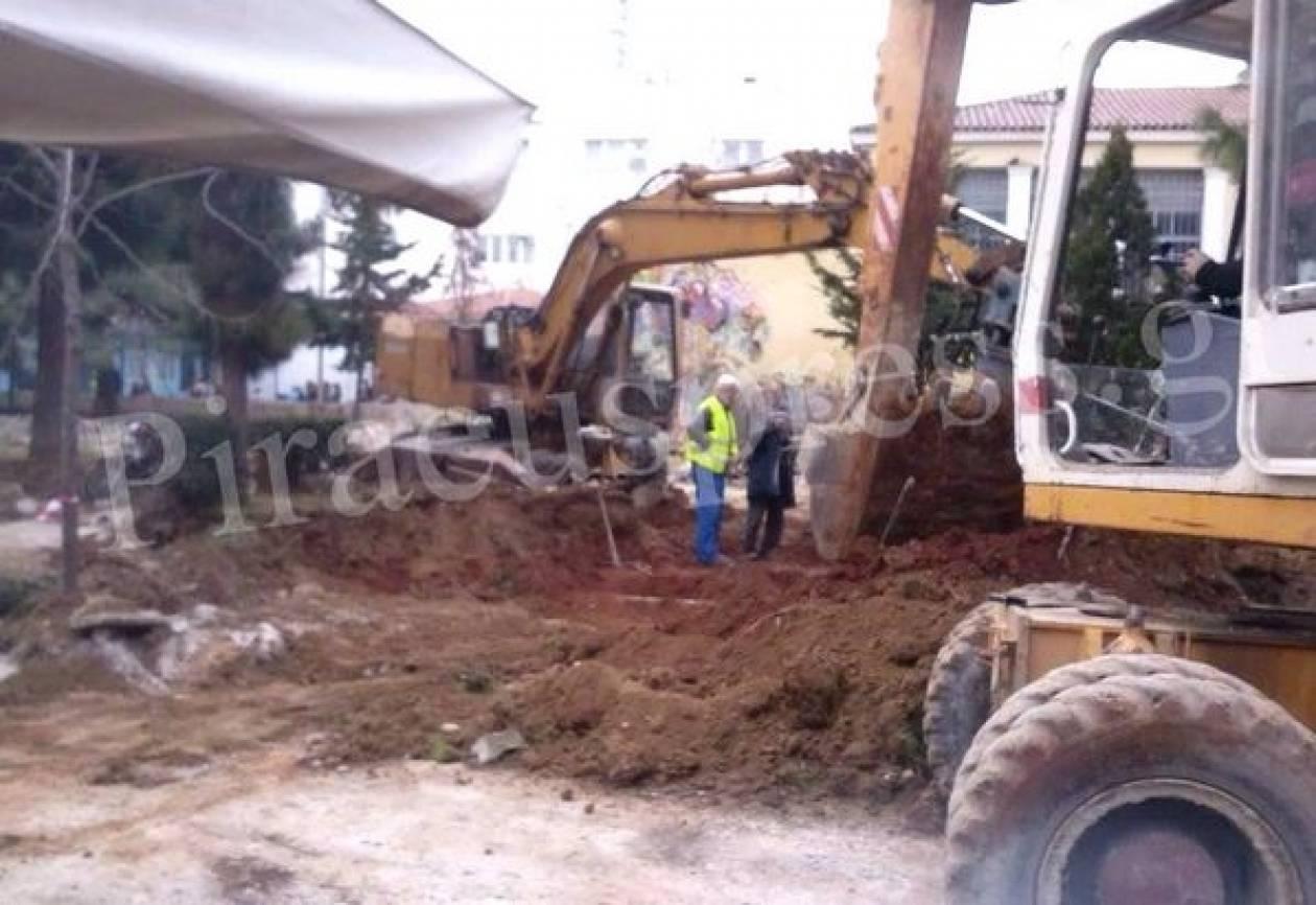Ανάπλαση και εργασίες για την πρώτη βιοκλιματική πλατεία του Πειραιά