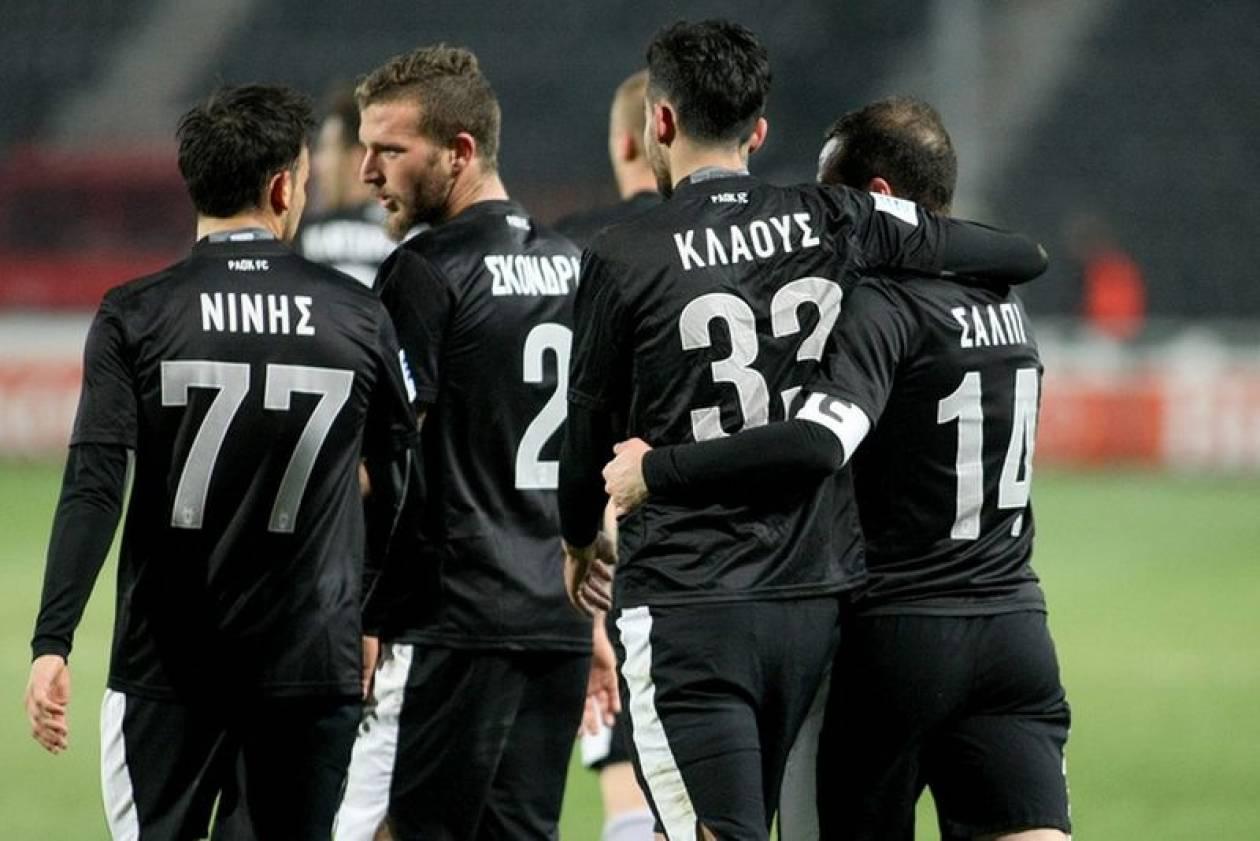 ΠΑΟΚ-ΟΦΗ 5-0: Τα γκολ και οι καλύτερες φάσεις (video)