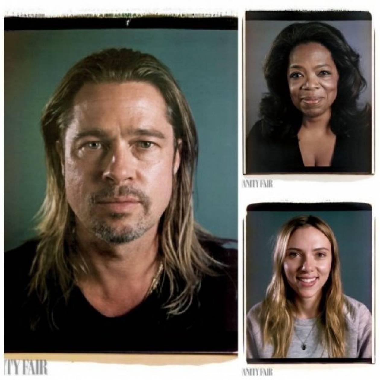 O Chuck Close φωτογραφίζει 20 σταρ του Hollywood όπως πραγματικά είναι