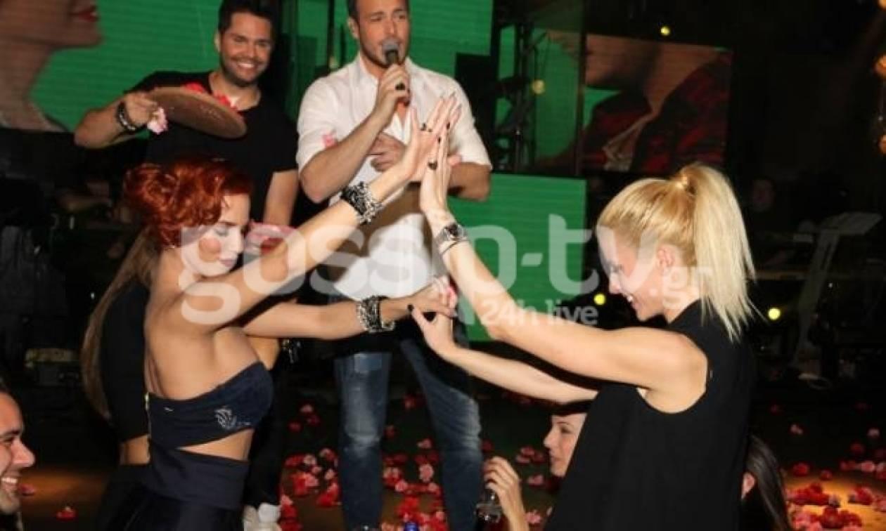 Στικούδη – Αραβανή: Μετά τη σάμπα χόρεψαν τσιφτετέλι!