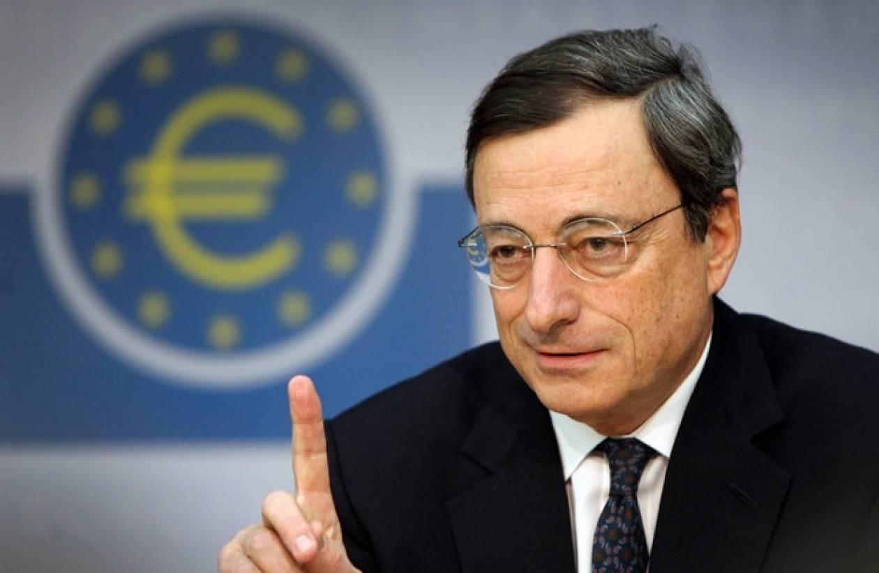 Ντράγκι: Η ΕΚΤ είναι έτοιμη να δράσει αν χρειαστεί