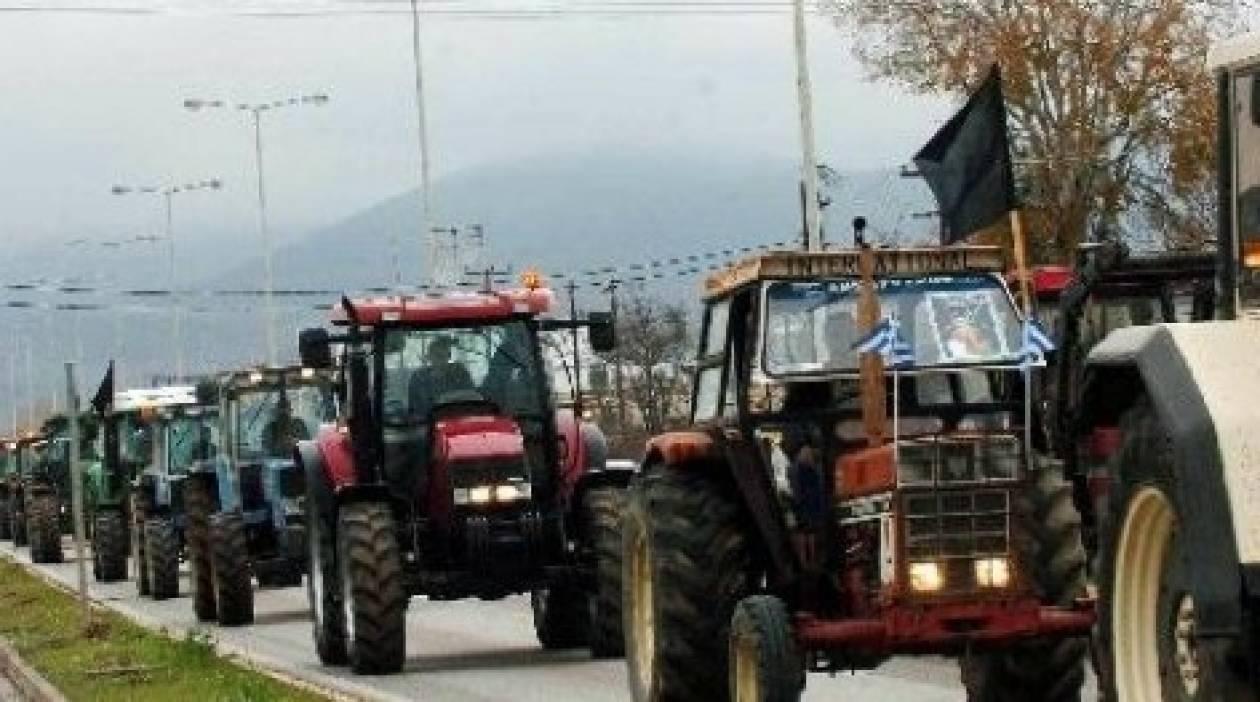 Συνεχίζονται οι κινητοποιήσεις των αγροτών στην Πελοπόννησο