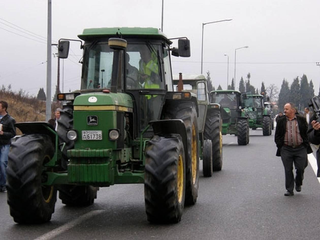 Συνεχίζουν τις κινητοποιήσεις οι αγρότες της Λάρισας