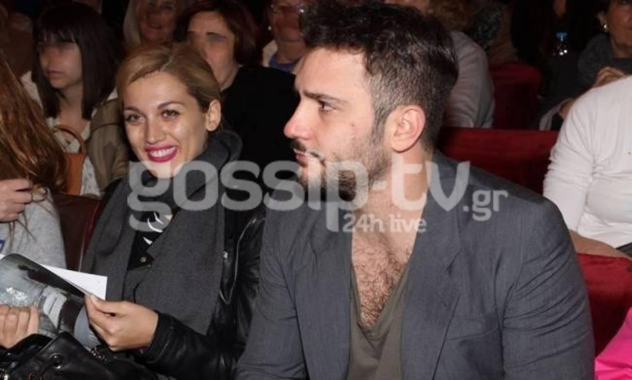 Η Σπυροπούλου πήγε θέατρο με τον Ζησάκη