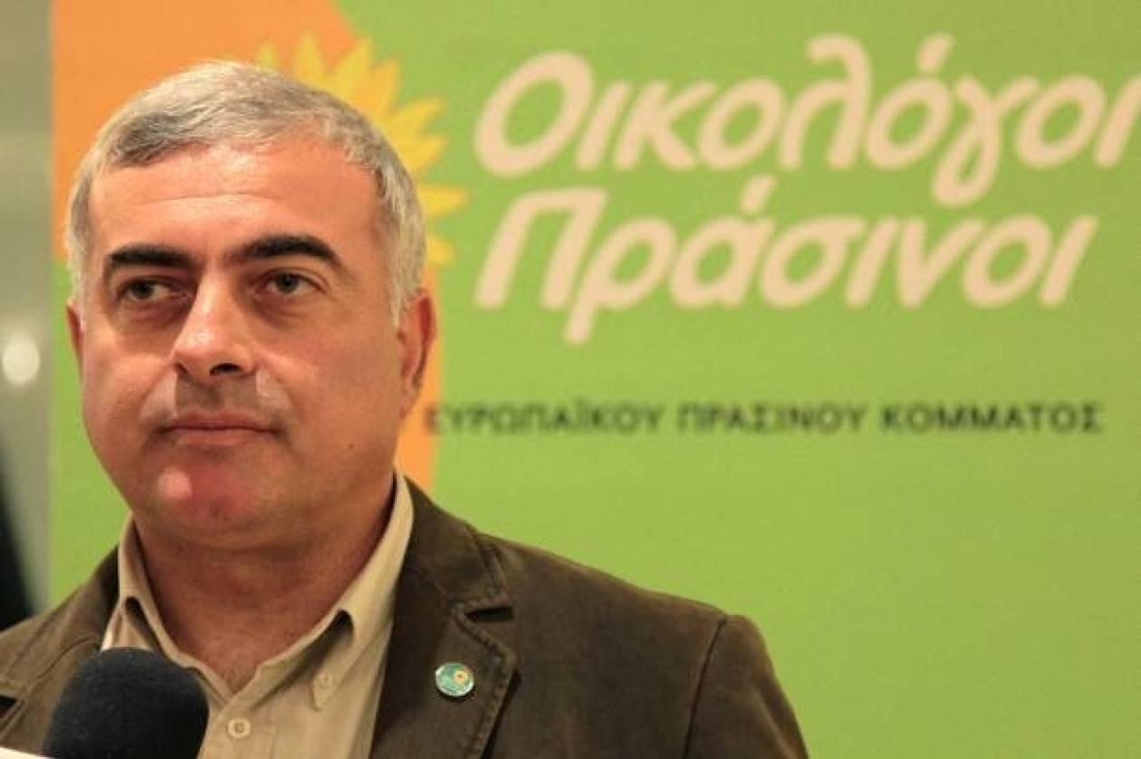 Παραιτήθηκε από την ευρωλίστα των Οικολόγων Πράσινων ο Ν. Χρυσόγελος