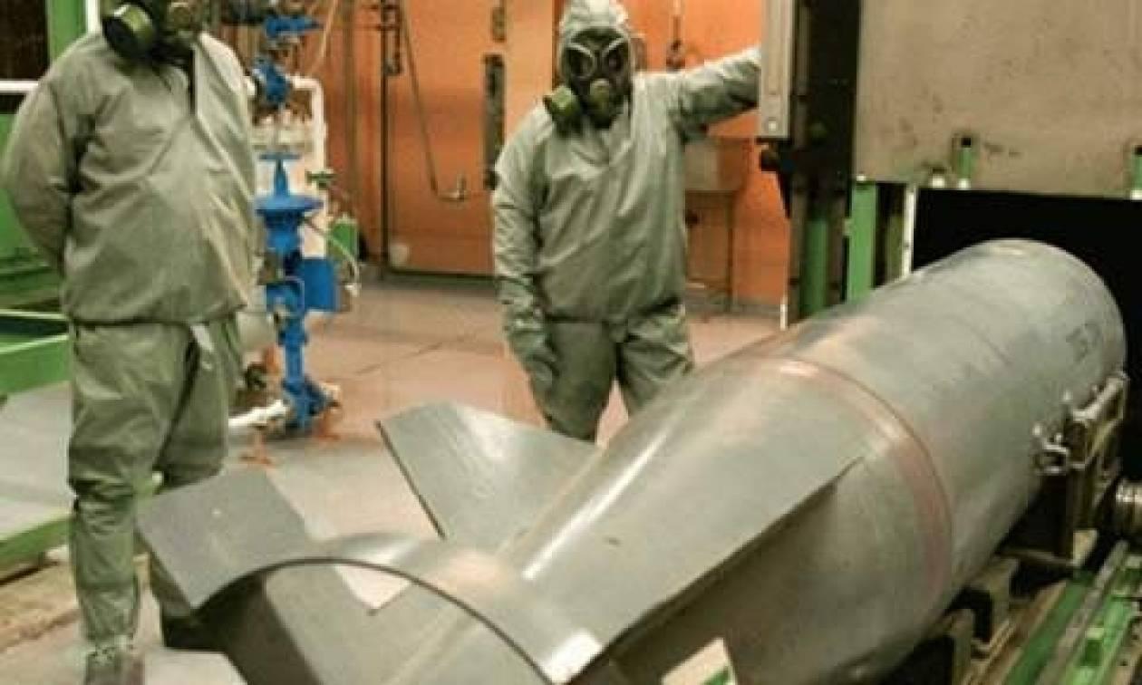O ΟΗΕ ζητάει από τη Συρία να επισπεύσει την καταστροφή των χημικών