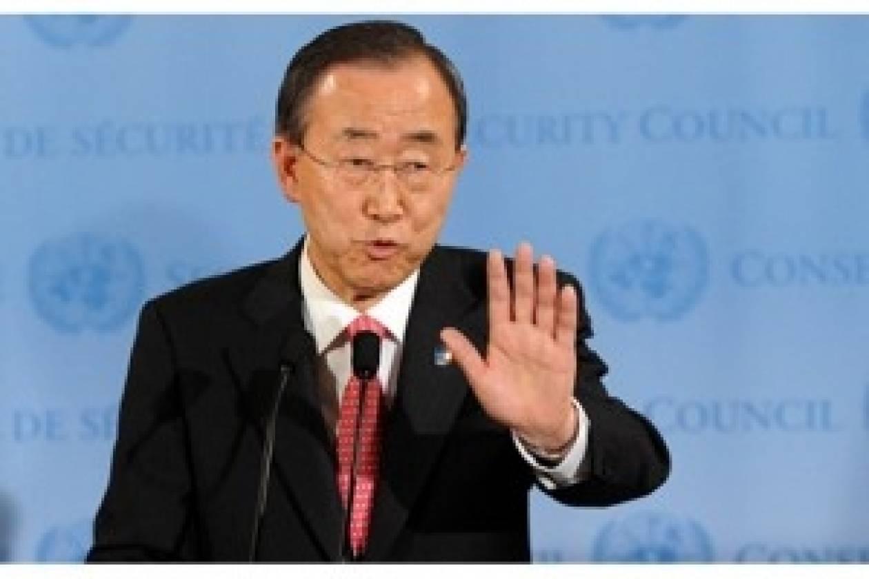 Καταδικάζει ο Μπαν Κι Μουν τις επιθέσεις στο Χαλέπι