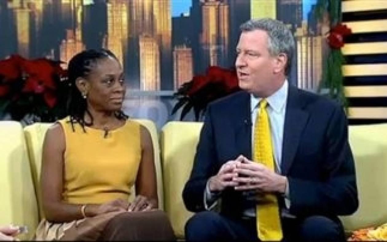 Ο δήμαρχος της Νέας Υόρκης διόρισε την... γυναίκα του!