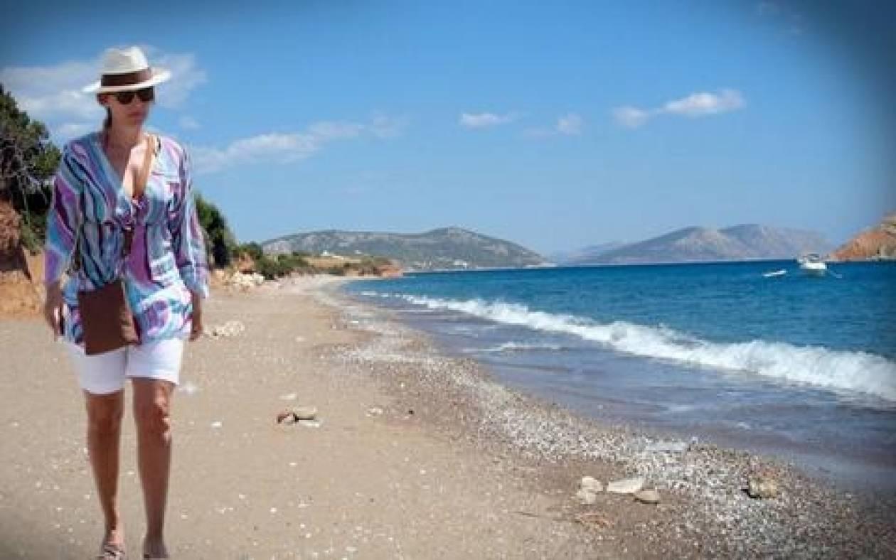 Διακοπές στον Μαυρίκιο κάνει με φίλες η Τριερβελέρ